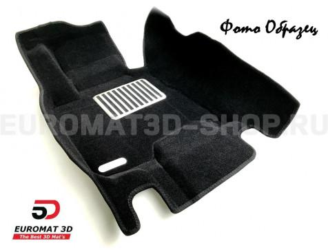 Текстильные 5D коврики с высоким бортом Euromat3D в салон для Bmw X4 (F26) (2015-2017) № EM5D-001210