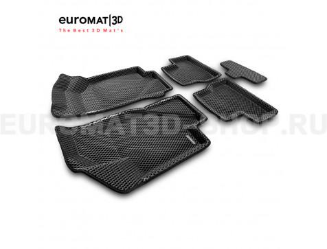 3D коврики Euromat3D EVA в салон для Datsun on-Do (2014-2020) № EM3DEVA-005310